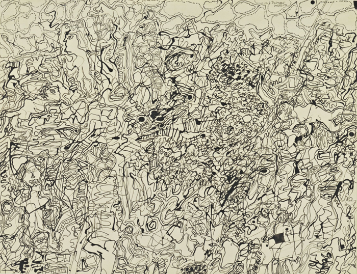 Dubuffet: Ties and Whys 1952