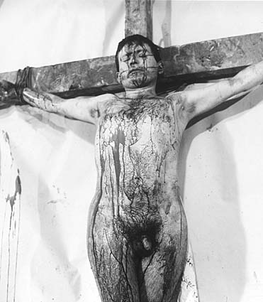 Hermann Nitsch_5. Aktion