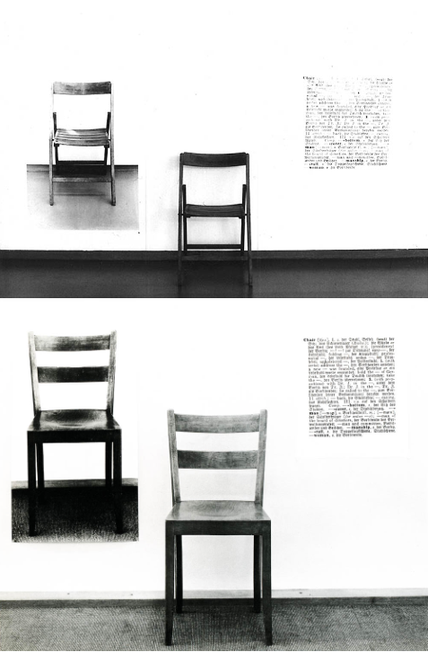 Joseph Kosuth: One and Three Chairs 1965