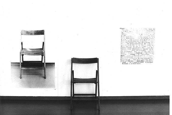 Chair englisch